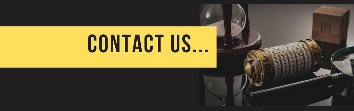 Escape Rooms Tamworth, Contact us